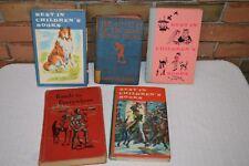 Vintage Children's Books Lot Lassie Christmas Carol Nancy Drew Snow White 1950's