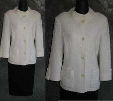 BEAUTIFUL St John jacket knit suit blazer size 10