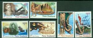 New Zealand. 1997. Discoverers. Set. MUH.