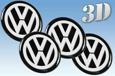 Wheel stickers Volkswagen  all size Centre Cap Logo Badge Wheel Trims 3d Gray