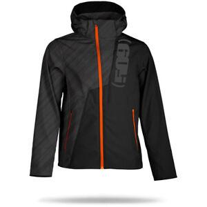 509 Tactical Soft-shell Hoodie Light Jacket - Black Ops/Orange - M  - L -XL- New
