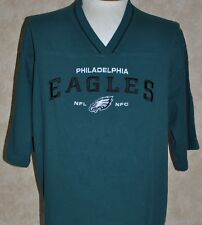 Philadelphia Eagles Nfl Football Jersey Green Embroidered Xl Cotton Nice!