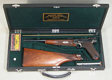 MOROCCO LEATHER TRUNK GUN CASE FOR LUGER CARBINE
