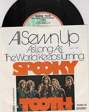 """SPOOKY TOOTH - All Sewn Up - Original 1973 German 2-track 7"""" vinyl single in p/s"""
