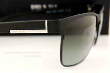 Brand New Prada Sunglasses 51O 51OS FAD 3M1 MATTE BLACK GRAY GRADIENT LENSES Men