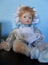 "Moments Treasured Limited Edition Porcelain Doll, ""Jenny"" Org, Box and COA"
