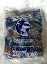 Manzel Japanese Cocktail Style Peanuts (Cacahuate Estilo Japones) 50 Pcs 2lb Bag