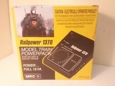 Model Rectifier Corp Railpower 1370 Power Pack Solid State Model Railroad