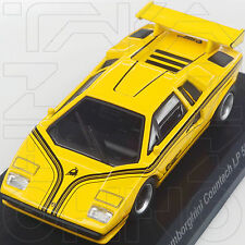 LAMBORGHINI COUNTACH LP500R MINICAR COLLECTION 6 KYOSHO 1:64 YELLOW GIALLO GELB