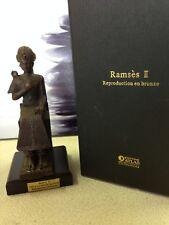 statuette bronze - Ramsès II - éditions Atlas