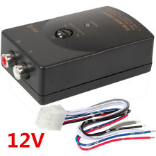 High to Low VF Dual Car RCA Stereo Speaker Level 1 Summing Line Output Converter