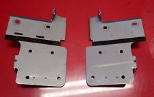 2006-2010 INFINITI M35 OEM IN DASH RADIO SUPPORT BRACKETS SET OF TWO