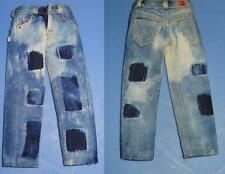 1/6 Scale  One Sixth Brand Action Figure JEANS Set #3 Patch & Faded Jeans