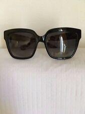 Designer Sunglasses D&G Women's Black Bold Square Shape