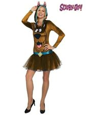NWOT $58.50 HANNA-BARBERA SCOOBY DOO BY RUBIE'S HOODED GIRL'S ADULT COSTUME - L