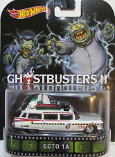 1/64 Hot Wheels Retro Ghostbusters II Ecto 1A