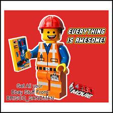 "Fridge Fun Refrigerator Magnet LEGO MOVIE ""EVERYTHING IS AWESOME!"" Version: C"