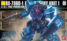 BANDAI HG Gundam 1/144 RX-79BD-1 Blue Destiny Unit 1 HGUC US Seller 150528