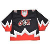 Ottawa 67s KILLER PUCK Nike Throwback Hockey Jersey L - Great for Senators fans!