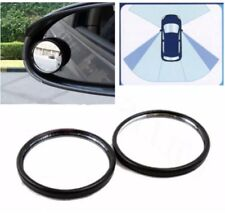 2pc Small BLIND SPOT MIRRORS ADHESIVE STICK ON CAR VAN BIKE TOWING REVERSING