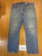 destroyed levi feathered grunge 501 jean tag 36x30 meas 35x30 16484F