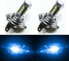 LED 80W 9003 HB2 H4 Blue 10000K Two Bulbs Head Light Replace Lamp Off Road Fit