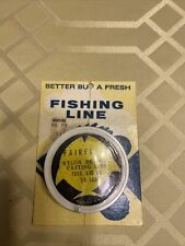 Fairfield Braided Nylon Casting Line 15Lb. test 50 yard spool Vintage. Nos