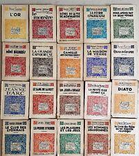 """Lot 20 livres différents Collection """"le livre moderne illustré"""" FERENCZI (Lot 2)"""