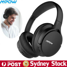 MPOW Bluetooth Headphones Over Ear Hi-Fi Stereo Wireless Headset Music MP3 Play