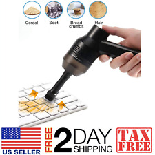 USB Vacuum Cleaner Keyboard Computer Laptop Pc Desktop Mini Handheld Dust Brush
