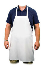 10x Blank Adult White Quality Polyester Apron for Dye Sublimation Printing