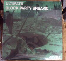 PAUL NICE Ultimate Block Party Breaks Vol. 6 LP SEALED hip-hop breakbeats