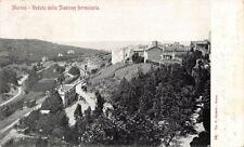 9611) MARINO (ROMA ) STAZIONE FERROVIARIA. VIAGGIATA NEL 1904.