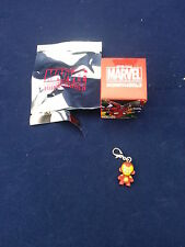 "Kidrobot x Marvel 1"" MUNNY Zipper Pulls Series 1 - Ironman Worldwide Free S/H"