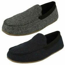 Mens Clarks Full Slippers Interior-Cheer