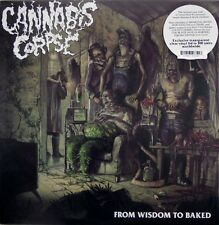 Cannabis Corpse - From Wisdom to Baked LP - 300 Clear Vinyl - NEW COPY