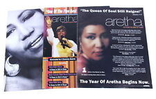 Aretha Franklin 1990s - 2000s Lot of 15 Billboard Magazine Promotional Ads
