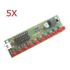 5Pcs NE555 + CD4017 LED Flash DIY Kit 3-5V Light LED Module