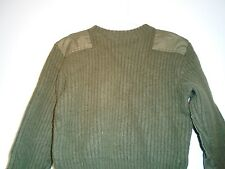 GENUINE USMC MARINE CORPS COLD WEATHER 100% WOOL SWEATER 1997 SIZE SMALL 38 G-2