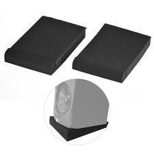 """2 Pack Studio Monitor Speaker Isolation Acoustic Foam Pads Max. 9.6"""" * 7.7"""" Y3E1"""