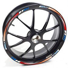 UKEN Sticker wheel Rim Aprilia Tuono V4 1100 RR 1100RR Red Blue strip tape vinyl