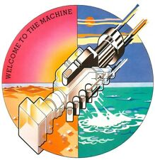 Pink Floyd Welcome To The Machine EP Vinyl LP Cover Sticker or Magnet