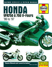 Haynes Manual for Honda VFR750 & 700 V-Fours (1986 - 1997) HM2101