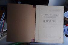 B. FERRARA - LO STUDIO DEL VIOLINO LIBRO DUE - SPARTITI MUSICALI
