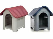 New Indoor Outdoor Dog House Small to Medium Pet Doghouse Puppy Shelter 2-Colors