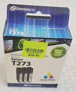 Dataproducts Remanufactured Inkjet Ink Cartridge Replaces EPSON T2373 TRICOLOR