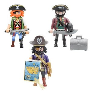 Playmobil Super 4 Pirates Figurines Special Character Limited Pirate Ship
