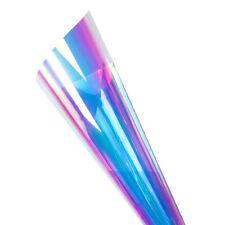 Blue Rainbow Window Film Dichroic Window Sticker Iridescent Glass Film