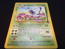 Pokemon Butterfree 33/64 Unlimited Edition Jungle Set UnCommon Card Mint