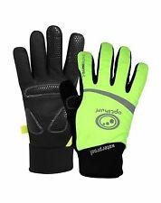 Optimum Sport Nitebrite High Visibility Thermal Waterproof Winter Cycling Gloves
